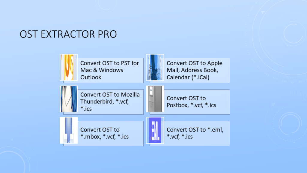 OST to PST Conversion for Outlook 2019