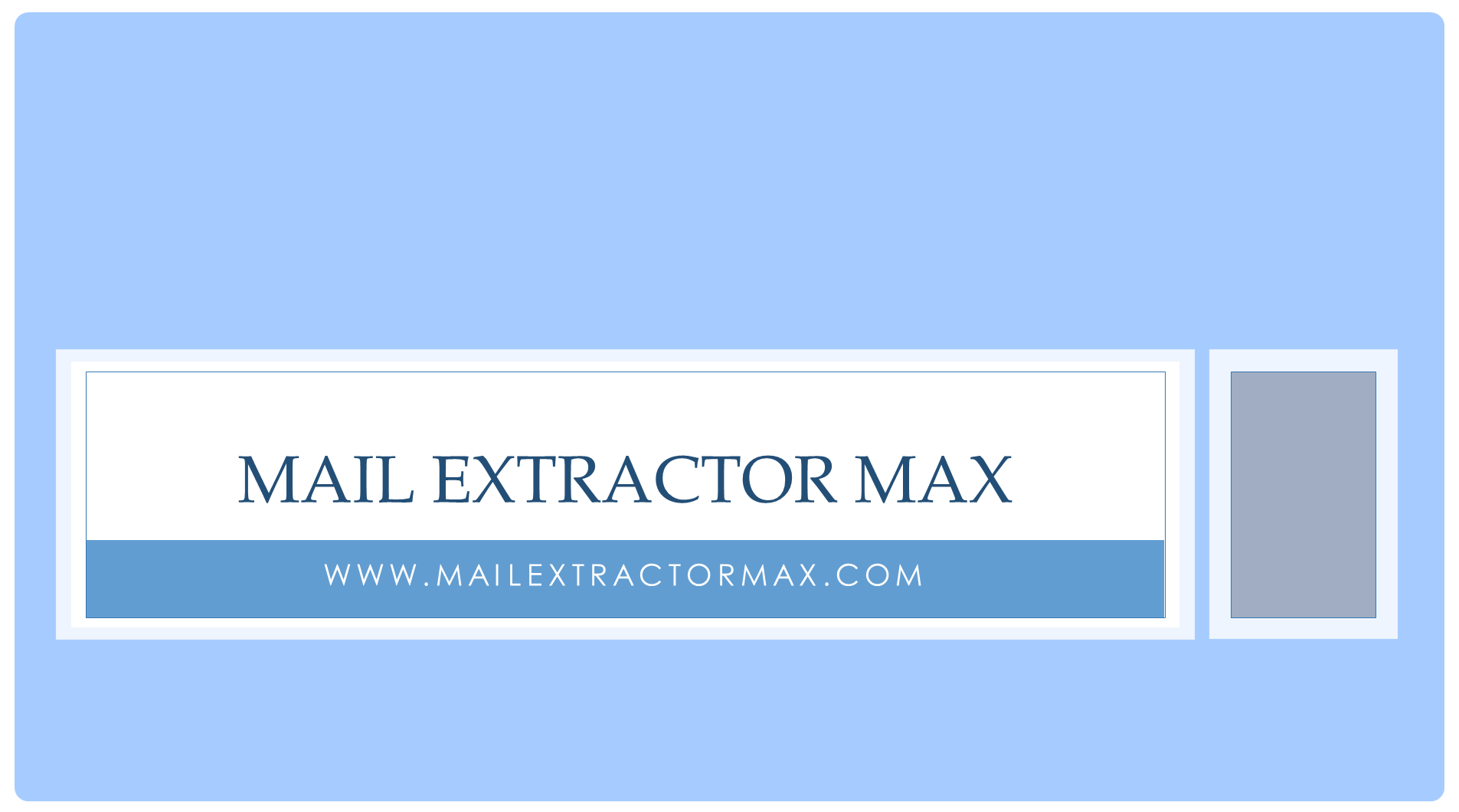Mac Mail to Postbox Converter to go for: Mail Extractor Max