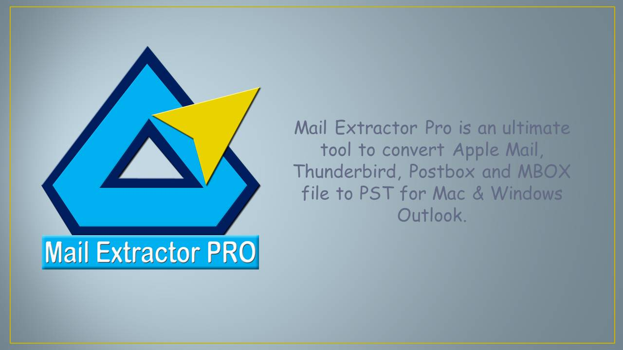 Exporting MBOX to Outlook made smarter: Mail Extractor Pro