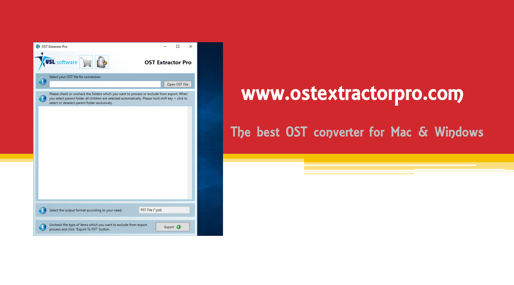 Hack the basic skills to export OST to EML with the help of OST Extractor Pro