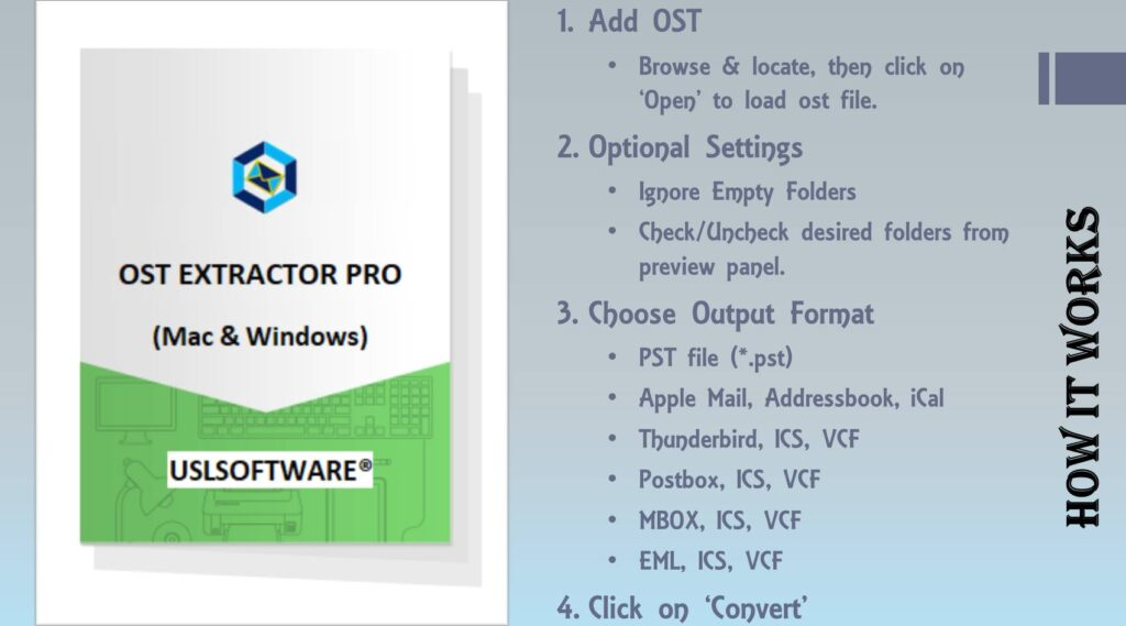 how to open ost file in outlook for mac and windows