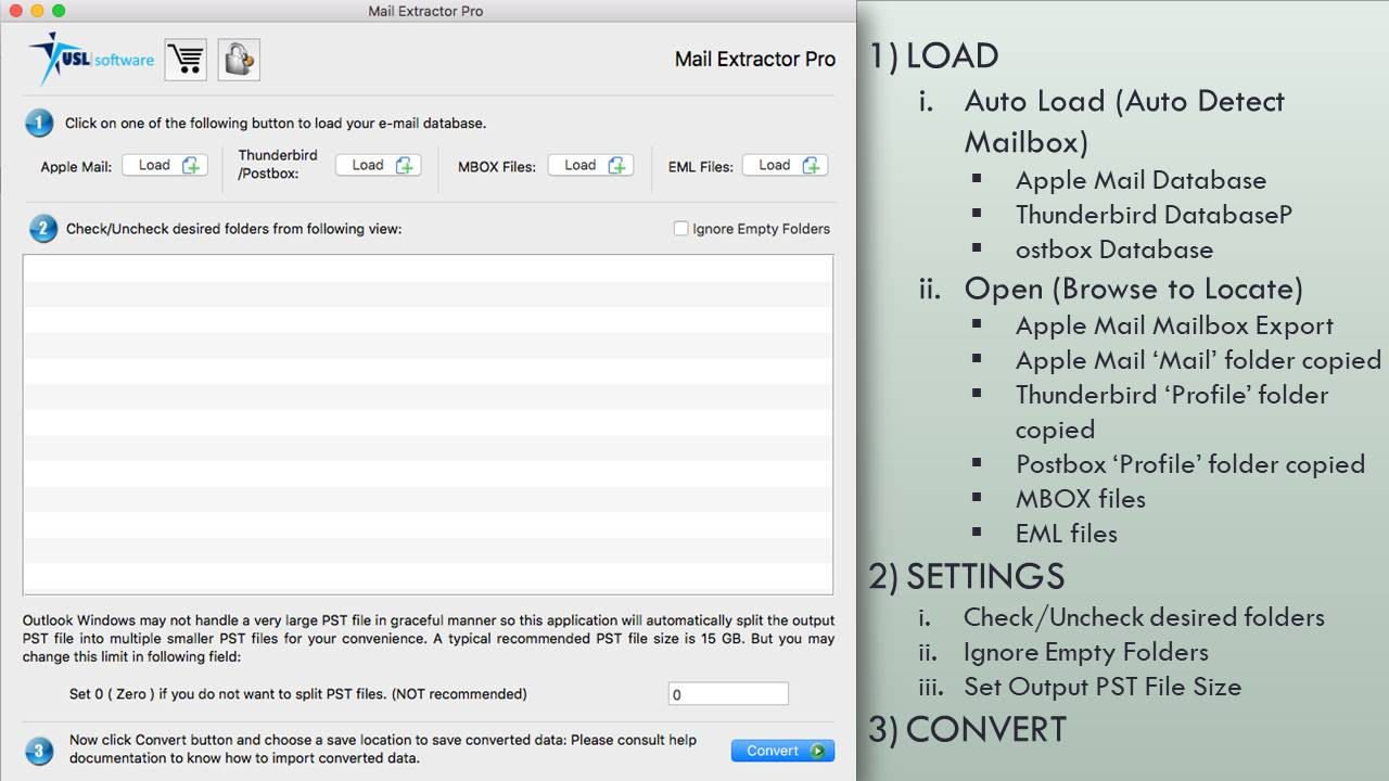 Convert Apple Mail Mailbox Export to PST for MS Outlook!